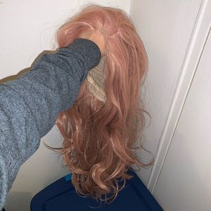 Accessories - Rose Gold Synthetic Wig